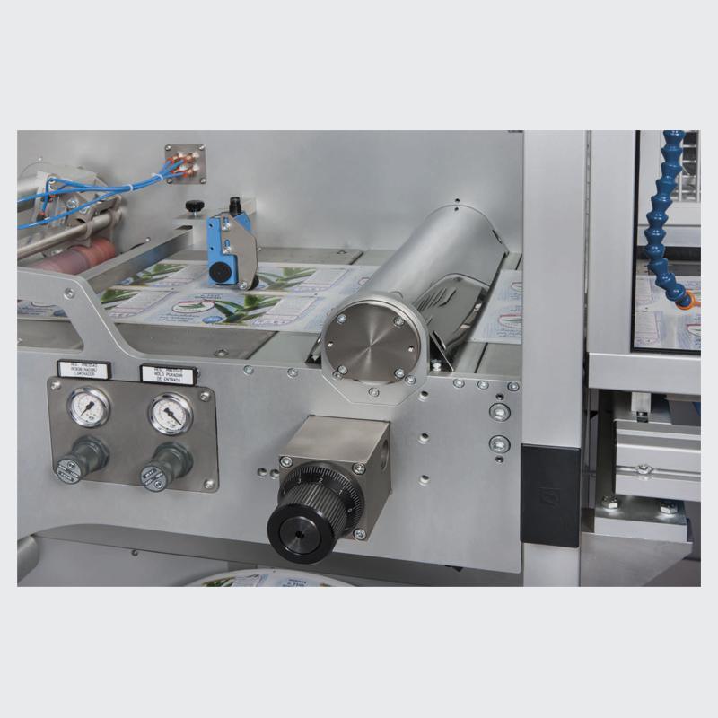 Corte papel laser