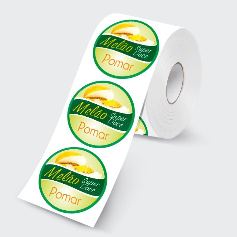 Etiquetas adesivas atacado