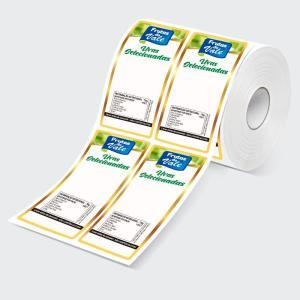 Impressão digital de etiquetas